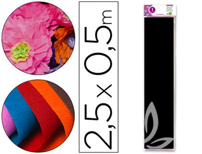 Papel pinocho color negro (Cod.24280)